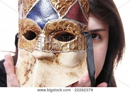 The Mask That Hides His Face