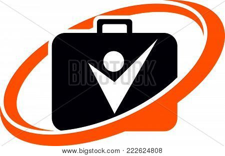 Success Businessmen Management Logo Design Template Vector