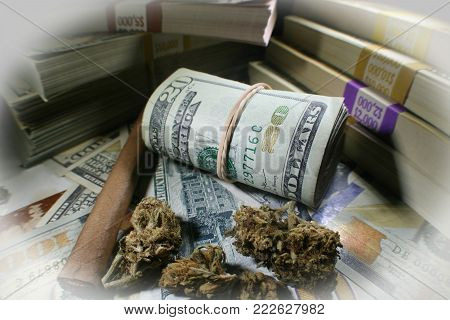 Medical Marijuana's Big Profits With Blunt & Money High Quality