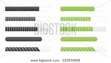 loading bar progress, load sign vector illustration