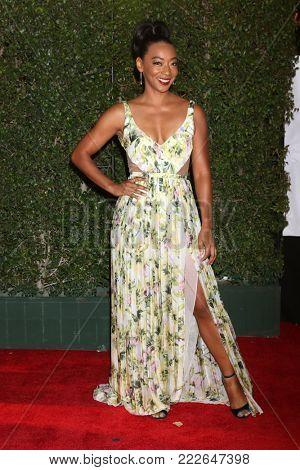 LOS ANGELES - JAN 15:  Betty Gabriel at the 49th NAACP Image Awards - Arrivals at Pasadena Civic Center on January 15, 2018 in Pasadena, CA