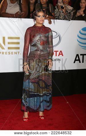 LOS ANGELES - JAN 15:  Andra Day at the 49th NAACP Image Awards - Arrivals at Pasadena Civic Center on January 15, 2018 in Pasadena, CA