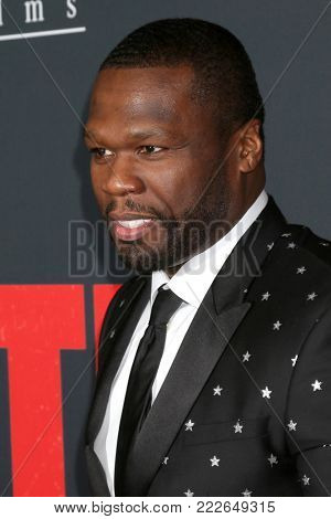 LOS ANGELES - JAN 17:  Curtis Jackson, 50 Cent at the
