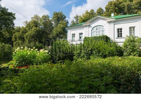 Outbuilding Of Kuzminsky. From 1859 To 1862 The School Of Leo Tolstoy For Peasant Children. In The E