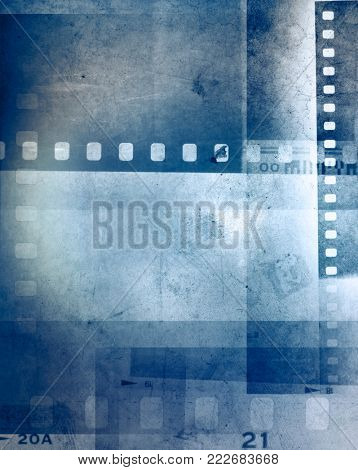 Camera film negative film frames background