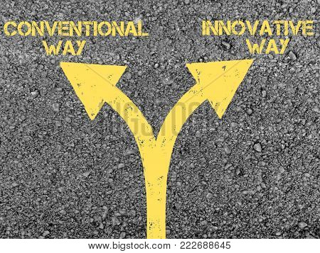 Between conventional way and innovative way
