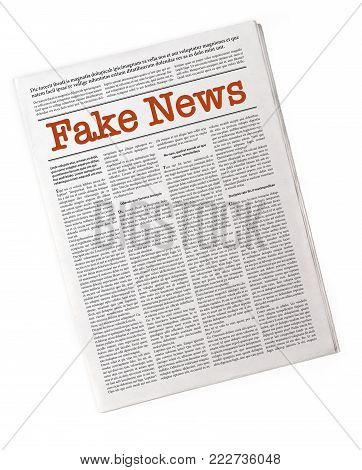 Fake News On A Daily Paper
