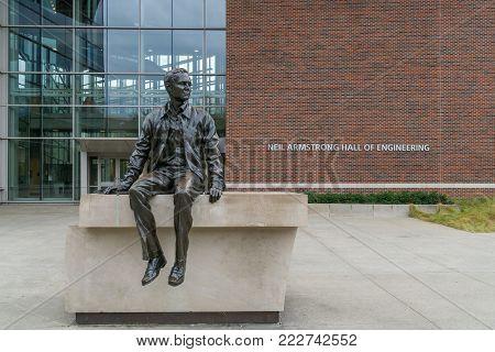 Ross-ade Stadium At Purdue University