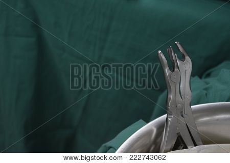 Two surgical devices in the surgical tray