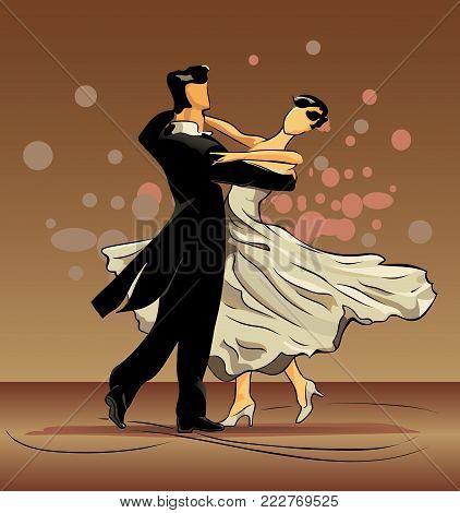 A waltz is dance of falling in love