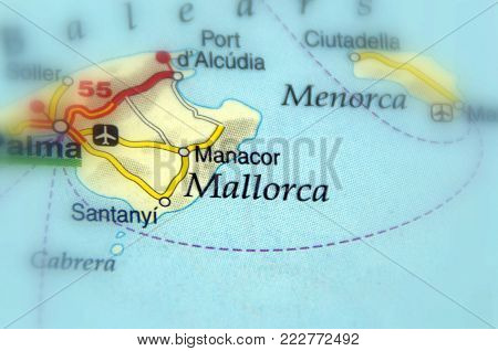 Mallorca, also spelt Mallorca,  the largest island in the Balearic Islands, which are part of Spain and located in the Mediterranean.