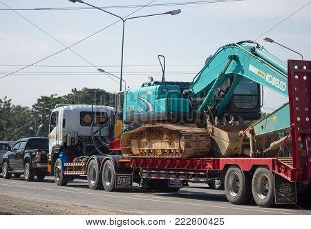 Trailer Dump Truck Of Payawan Transport Company.