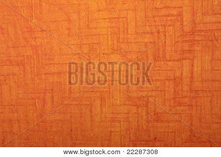 orange ladder pattern handmade art paper
