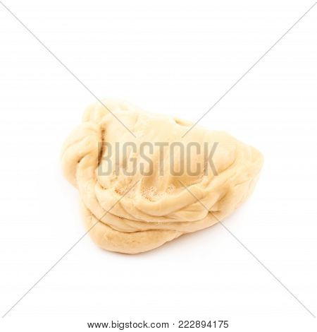 Chewing gum isolated over the white background