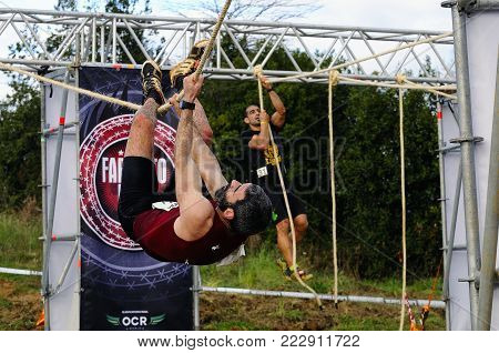 Farinato Race, Extreme Obstacle Race In Gijon, Spain.