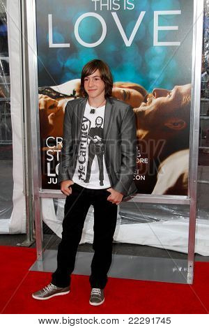 NEW YORK - JULY 19: Jonah Bobo attends the world movie premiere of