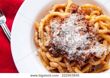 Handmade Pici Pasta