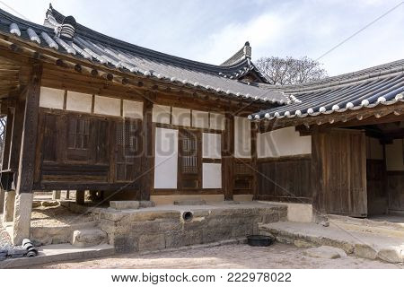 Geukrakjeon Hallways In Bulguksa Temple