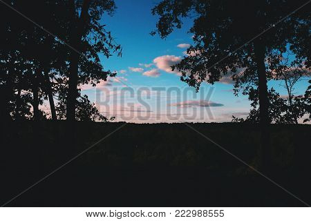 Landscape of Lookout at Raven Rock in North Carolina
