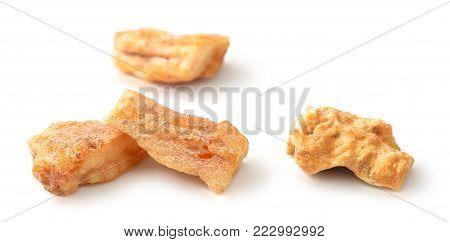 styrax benzoin resin isolated on the white background