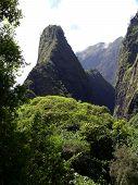 Iao Needle Maui Hawaii Hana Rainforest river poster