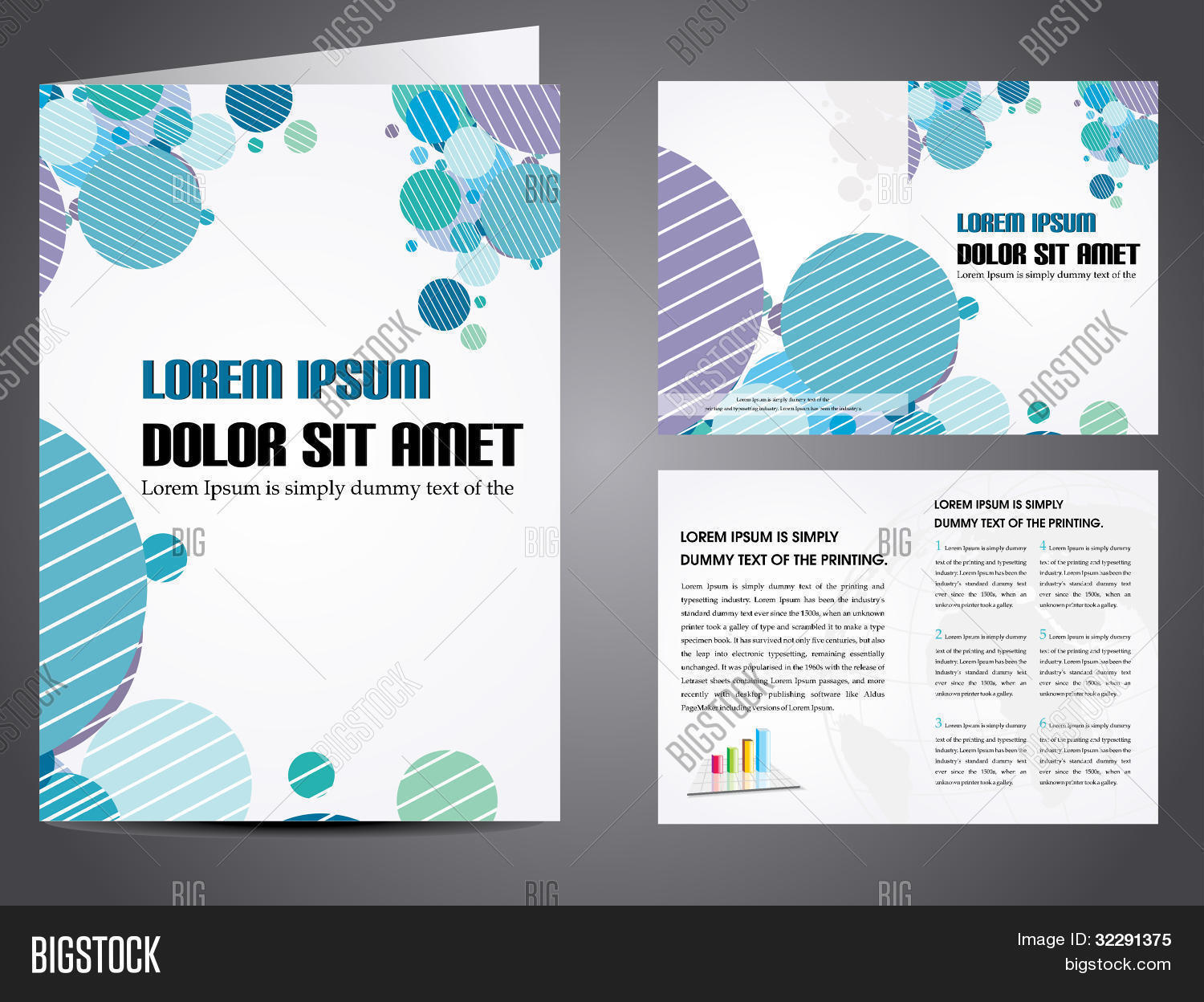 Professional business vector photo free trial bigstock professional business catalog template or corporate brochure design with inner pages for document publishing cheaphphosting Images