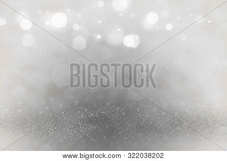 Orange Pretty Brilliant Abstract Background Glitter Lights Defocused Bokeh - Festal Mockup Texture W