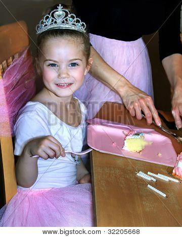 Glowing Ballerina