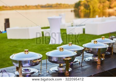 The Catering Wedding Buffet Ready For Events