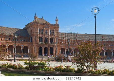Spain Square In Seville