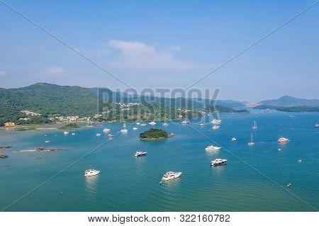 This Is About Island In Sai Kung. Sha Ha At Hong Kong