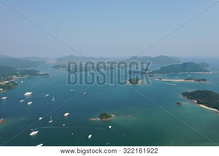 This Is About Island In Sai Kung. Hong Kong