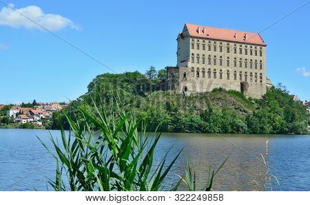 Plumlov Is A Castle Rebuilt Into A Chateau In The Town Of The Same Name In The District Of Prostejov