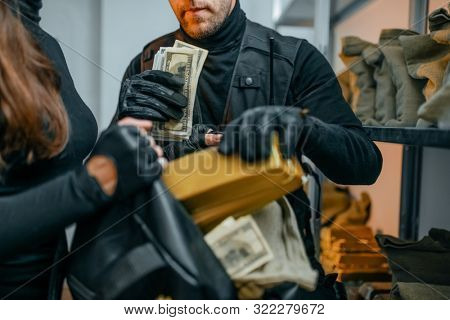 Bank robbery of the century, robbers hacked vault
