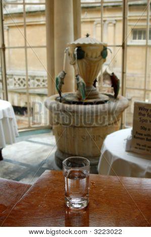Roman Bath Water From Bath, England