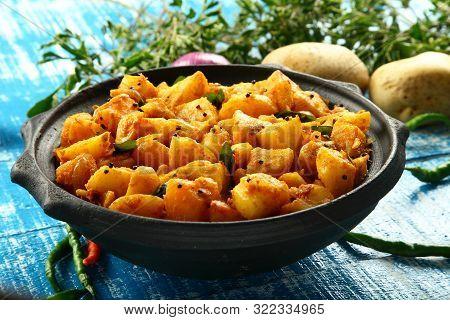 North Indian Potato Curry Roast- Dum Aloo Jeera,