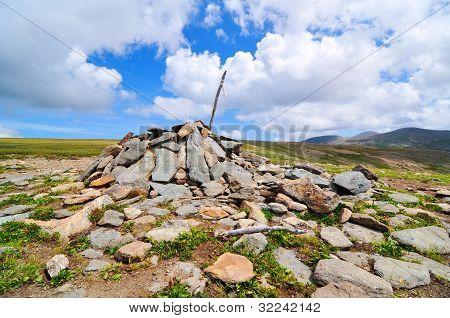 Mountain pass, Altay