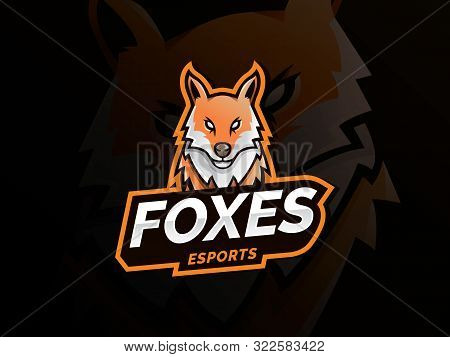 Modern Icons For Logo And Emblem. Fox Head Illustration. Fox Head Mascot, Esports Logo, Mascot For A