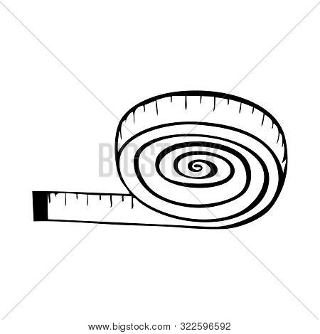 Measure Tape - Measuring Tape Png Black And White, Cliparts & Cartoons -  Jing.fm