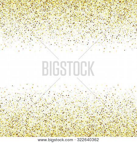 Gold Glitters Texture. Trendy Modern Vector Illustration. Vector Eps10