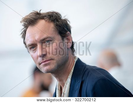 Jude Law attends
