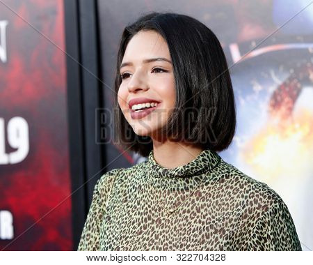 LOS ANGELES - SEP 12:  Angela Aguilar at the Halloween Horror Nights at the Universal Studios Hollywood on September 12, 2019 in Universal City, CA