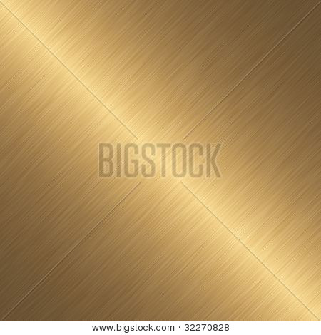 Gold plate background