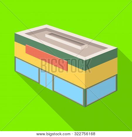 Vector Illustration Of Shop And Antiquarian Sign. Collection Of Shop And Modern Stock Symbol For Web