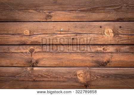Rustic Wood Timber Background. Abstract Natural Design. Pattern Of Old Wooden Planks. Table Of Oak.