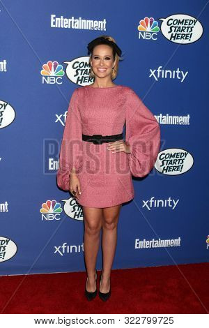 LOS ANGELES - SEP 16:  Anna Camp at the NBC Comedy Starts Here Event at the NeueHouse on September 16, 2019 in Los Angeles, CA