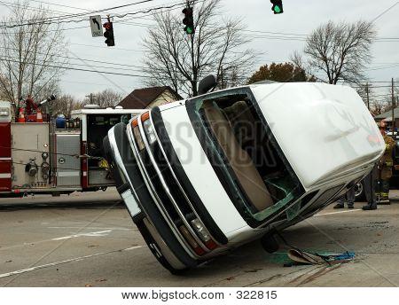 Serie de accidentes de tráfico
