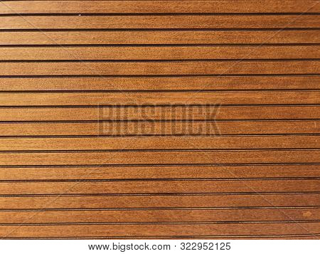 1970s Style Wood Paneling Background For Pattern Or Texture