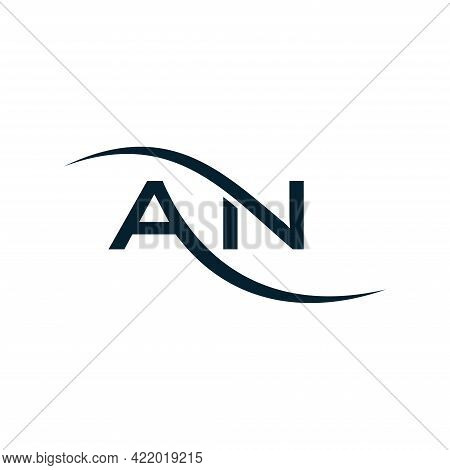 Initial Letter Logo An Or Na, Logo Template Designs