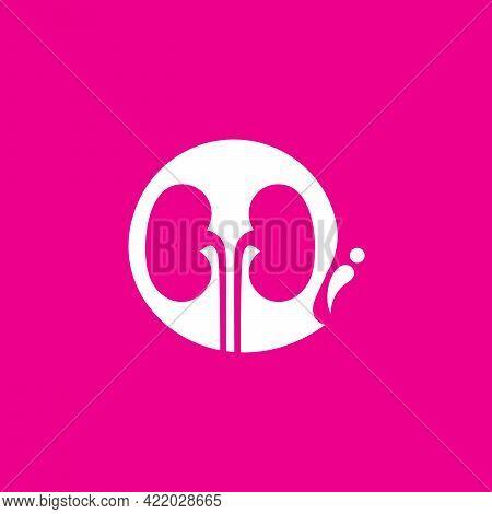 Kidney Consult Logo Designs Concept Vector, Kidney Healthcare Logo Template